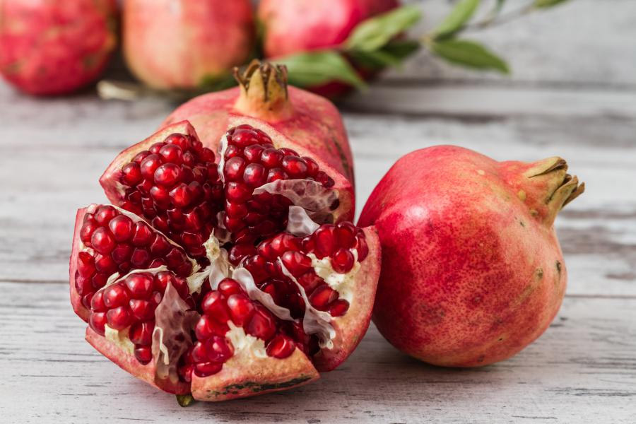 POMEGRANATE and prostate